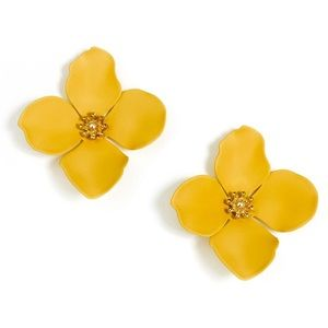 Zenzii Garden Party Flower Earrings